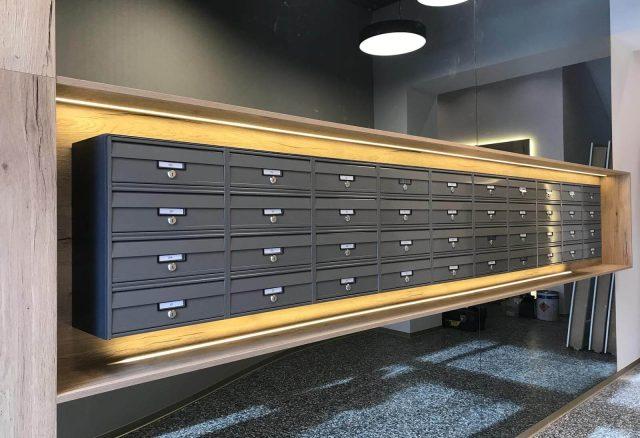 Novi kvadrat, lokacija Međimurska ulica - HORA poštanski sandučići 02
